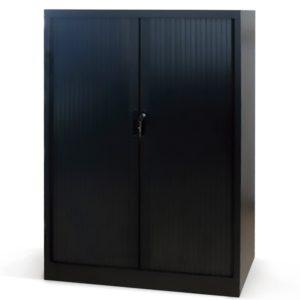 Armario de persiana altura 160 cm con 3 estantes