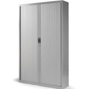 Armario de persiana altura 198 cm con 4 estantes