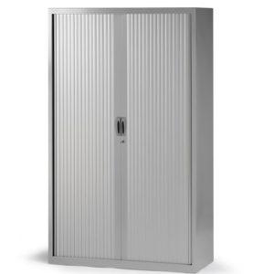 Armario de persiana altura 181 cm con 4 estantes