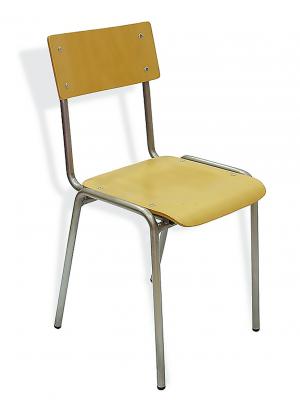 Silla escolar SX-1 4 patas metálicas