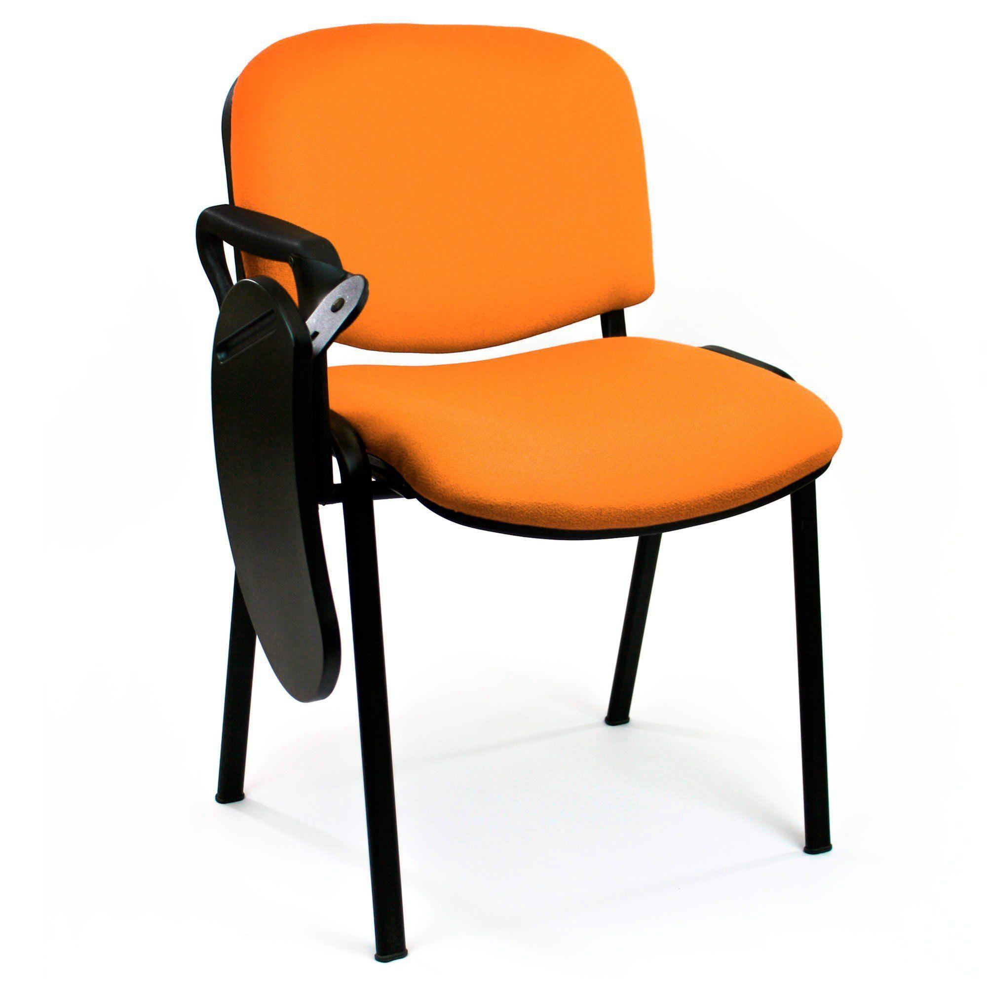 Silla Araba II naranja con pala poliamida