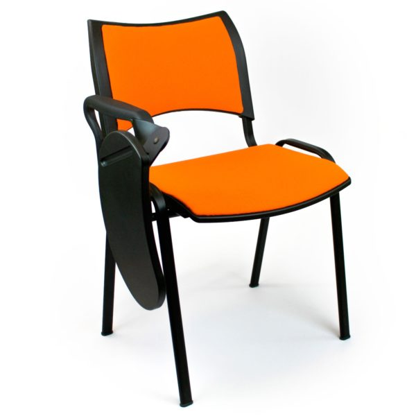 Silla Iso Smart tapizado naranja - pala poliamida