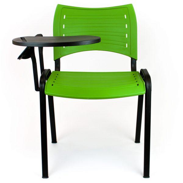 Silla New College verde con pala poliamida