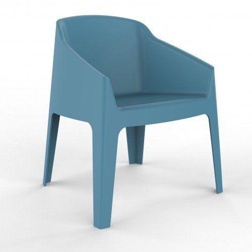 Silla Bakú azul retro - Sillapilable