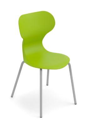 Silla Mia basic - 4 patas color Verd