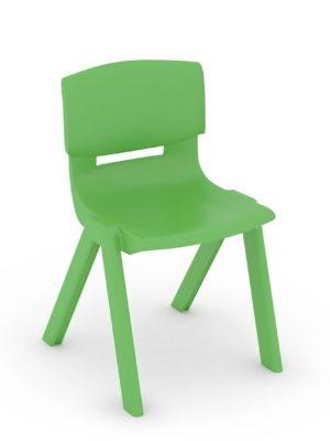 Silla escolar Luca color Verde