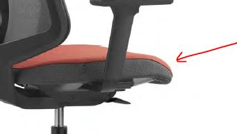 Dot.home es una silla bonita, con una buena sentada