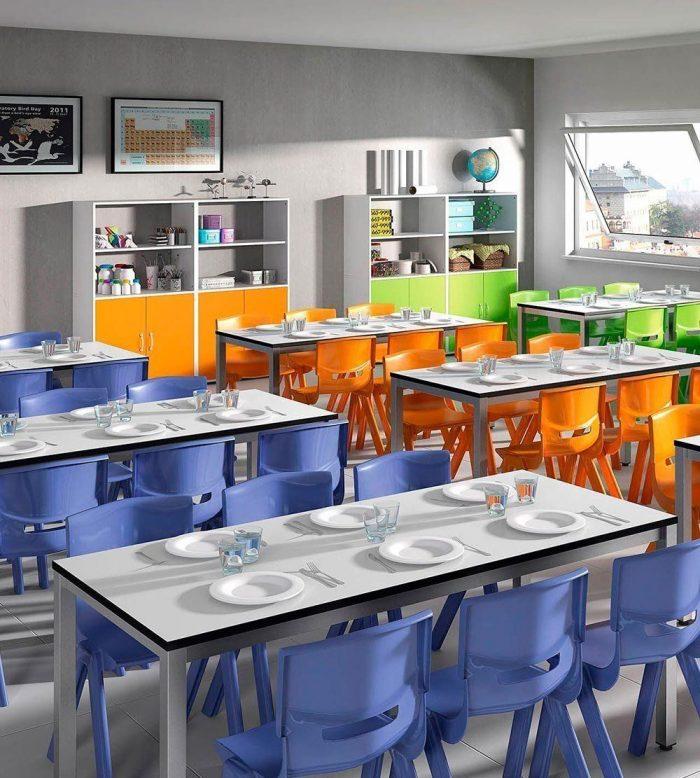 Mesa escolar Space