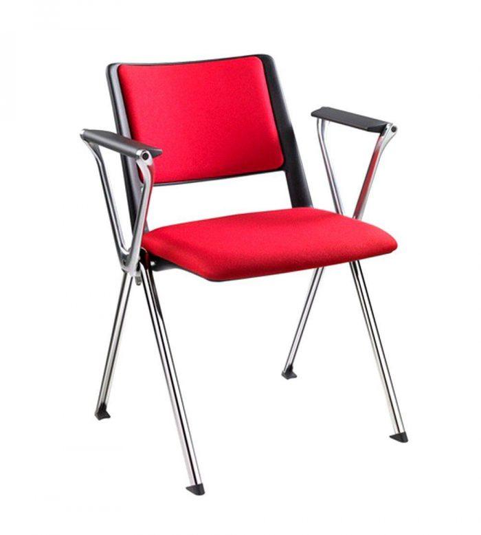 Silla asiento y respaldo tapizado confidente y colectividades Revolution