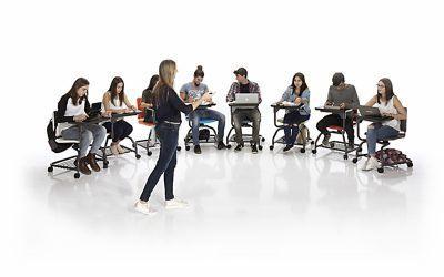 Sillas con pala o sillas para formación – Factores para elegir